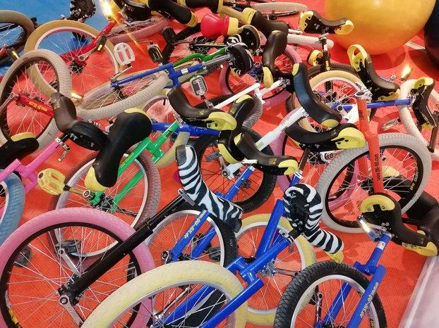 Ateliers Monocycle en extérieur